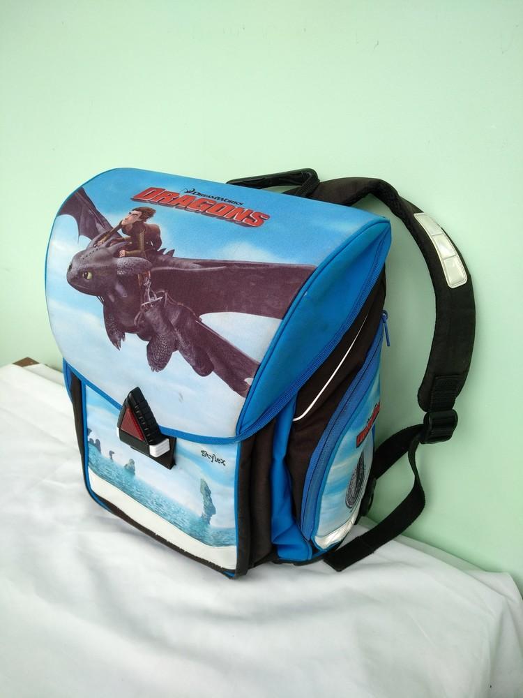 """Рюкзак-ранец ортопедический каркасный """"dreamworks"""" германия, для мальчика начальных классов 1-4кл фото №1"""