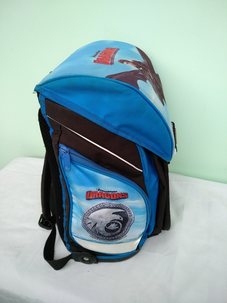 """Рюкзак-ранец ортопедический каркасный """"dreamworks"""" германия, для мальчика начальных классов 1-4кл фото №9"""