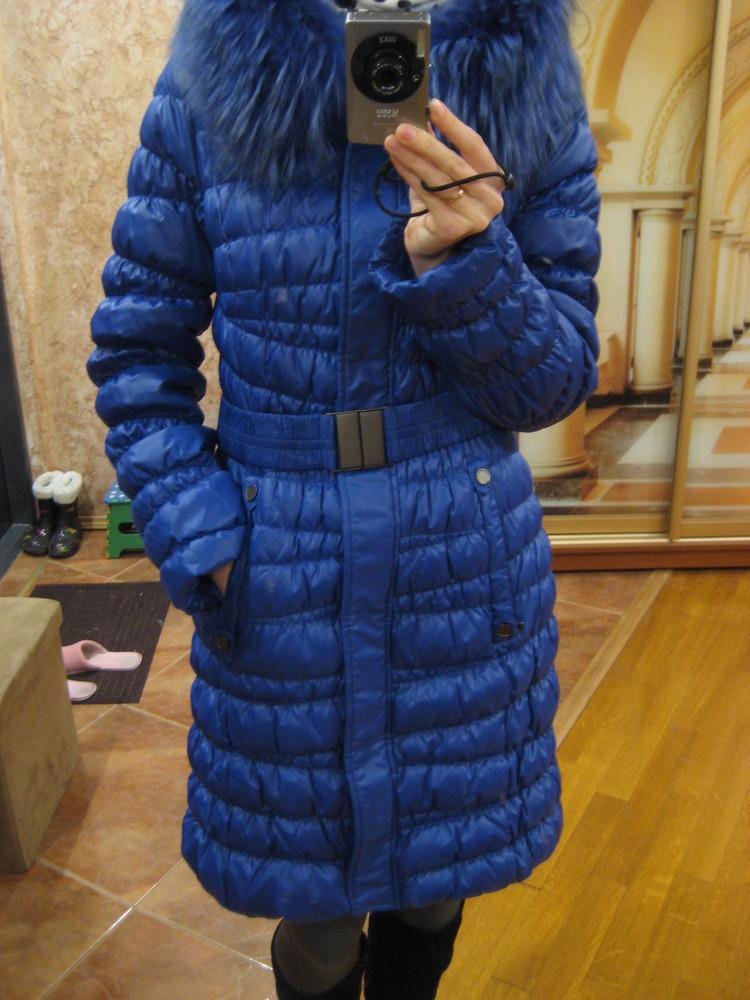 Женская зимняя курточка, пуховик, пальто - s размер фото №2