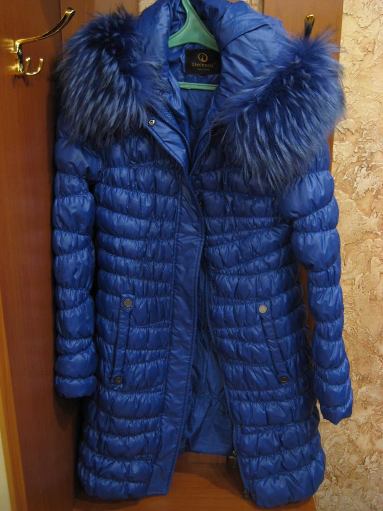 Женская зимняя курточка, пуховик, пальто - s размер фото №3
