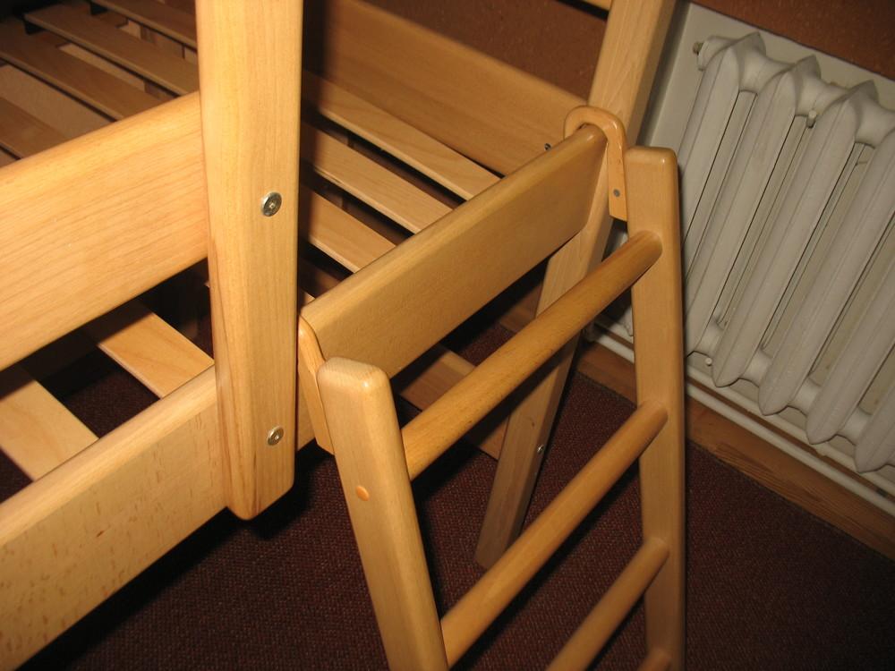 Продам кровать-чердак вместе с матрасом, изготовленные фирмой «ирель», б/у. фото №4